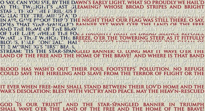 The US Symbol National Anthem of the United State