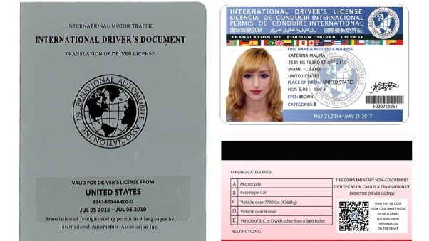 Issuing International Driving Licenses