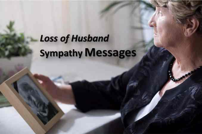 loss of husband