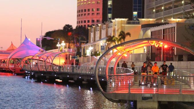 - Things to do in Tampa -  Are you planning a romantic getaway to Tampa with your sweetheart? Tampa has a lot to offer. In fact, with so many options, it might be difficult to decide.  So, with these 19 Best Things to do for Couples in Tampa, we're here to help you make the most of your time!  Tampa, Florida  Tampais a major city on theGulf Coastof theU.S. stateofFlorida. The city sits onTampa Bay as the largest city in theTampa Bay area and is theseatofHillsborough County.  With an estimated population of 399,700 in 2019, Tampa is the third-most populated city in Florida after JacksonvilleandMiami, and the47th most populated city in the United States.  In Tampa, there is a festival for nearly everything, including a Greek Festival, an Italian Festival, festivals for Margarita drinks, cigars, cupcakes, and even a Mac & Cheese Festival!  The most well-known is the Gasparilla pirate celebration, which takes place in January and honors José Gaspar, a Spanish pirate who used to loot and wander the Gulf of Mexico.  Best Romantic Things to Do in Tampa for Couples 1. Stroll along with the Tampa Riverwalk hand in hand  The Tampa Riverwalk is one of the city's most popular attractions. It's a one-stop-shop for a fun and inexpensive date night by the lake, with waterfront vistas, a large multi-use trail, and plenty of activities along the route.  2. In Ybor City, take a walk through history  Mr. Ybor drew tens of thousands of immigrants, mostly from Cuba, Italy, and Spain, who came to work and helped to establish a strong Latino culture in the city.  Ybor City was formerly a major base for Cuban rebels such as Jose Marti and Paulina Pedroso.  3. Spots of dolphins  One of our favorite things to do together was dolphin spotting in Tampas. A fantastic place to go, especially early in the morning is Bayshore Boulevard.  You may go explore dolphin spots in Tampa on a boat in Tampa Bay, though, if you want to not get up at the crack of dawn. The waters are famed for the enormous pa
