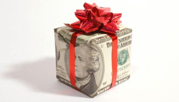 celebrities Giving Away Money