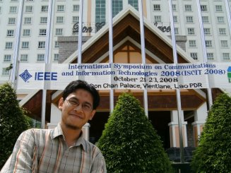 In 2008, I visited Vientianne, Laos. I joined and presented a research paper in ISCIT 2008. I was in favor of my Thai friend who wrote as the first author but cannot attend the conference. Nice city with amazing night bazaar.