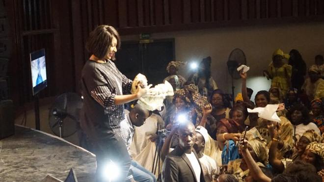 VIVIANE-13 Sorano : Meeting BBY, Viviane Chidid bat campagne pour Macky Sall (17 images)