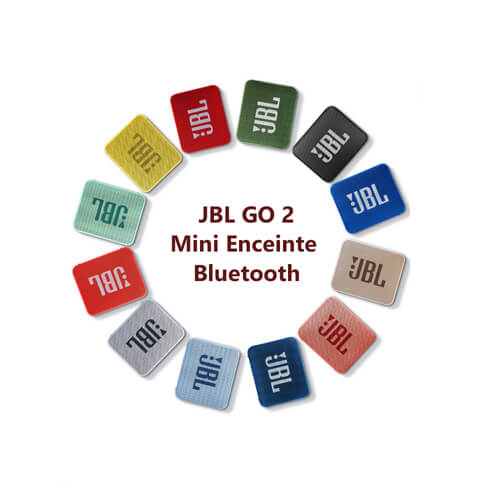 Mini Enceinte Bluetooth portable JBL GO 2 - Étanche IPX7 - 80dB - Autonomie 5hrs