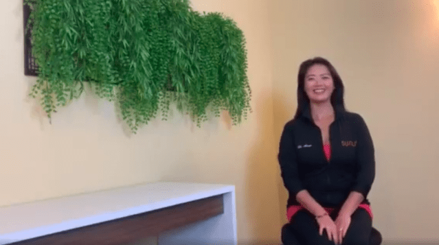 Dr. Annie Baietto work from home stretches