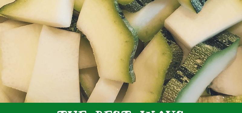 The Best Ways to Store Zucchini