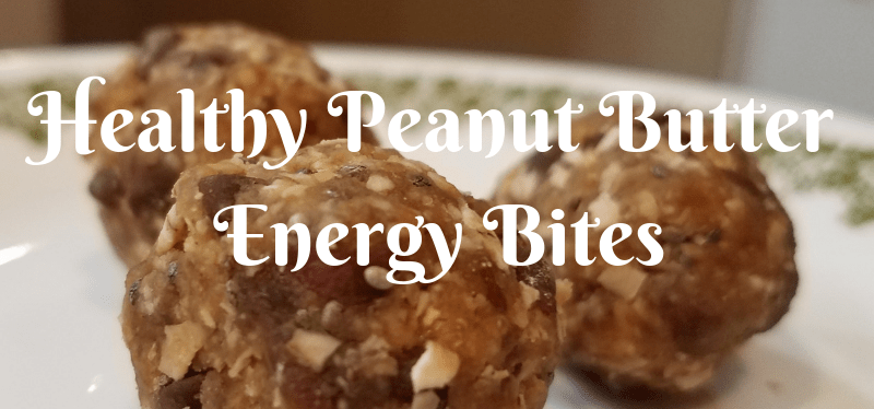 Healthy Peanut Butter Energy Bites