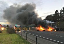 a-fire-broke-out-in-a-coal-fired-pump-on-the-highway