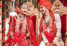 લગ્નના કેટલાક ફોટો ધનાશ્રી વર્મા(Dhanashree Verma) એ પોતાના ઈંસ્ટાગ્રામ એકાઉન્ટ ઉપર શેર કર્યા છે.