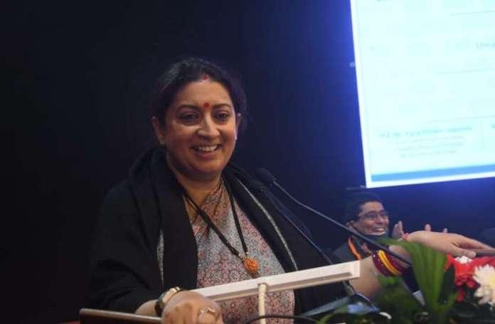 Smriti Irani wants to see Surat as textile machinery hub