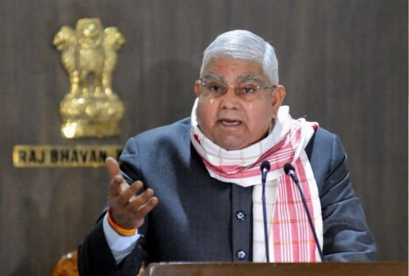 'Political police' in West Bengal, says Governor Jagdeep Dhankhar