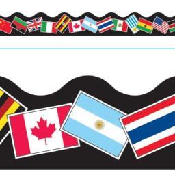 Borde de Diseno WORLD FLAGS
