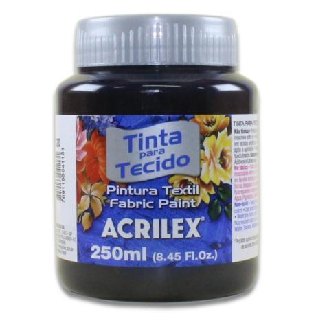 04125 PINTURA ACRILEX 250ML. PAQ 3 UND NEGRO