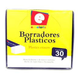 BORRADOR ESCOLARIS CHICO 30PCS