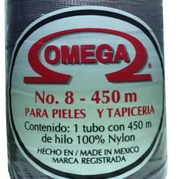 HILO NYLON OMEGA #8 450m 12PZ GRIS C27