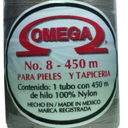 HILO NYLON OMEGA #8 450m 12PZ CREMA C73