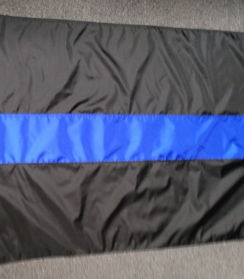 Thin Blue Line Flag flash