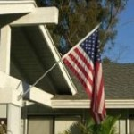 wall mount flagpole
