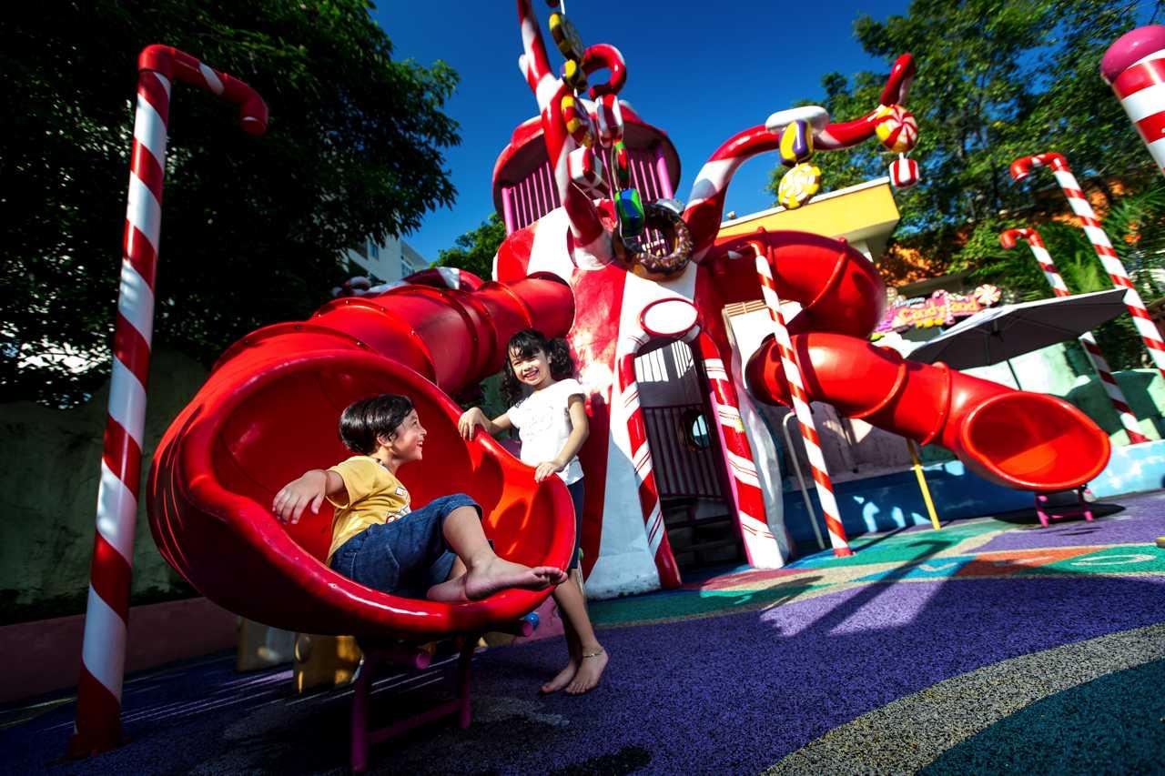Captain Kid's Candyland - Amusement Park at Sunway Lagoon Theme Park