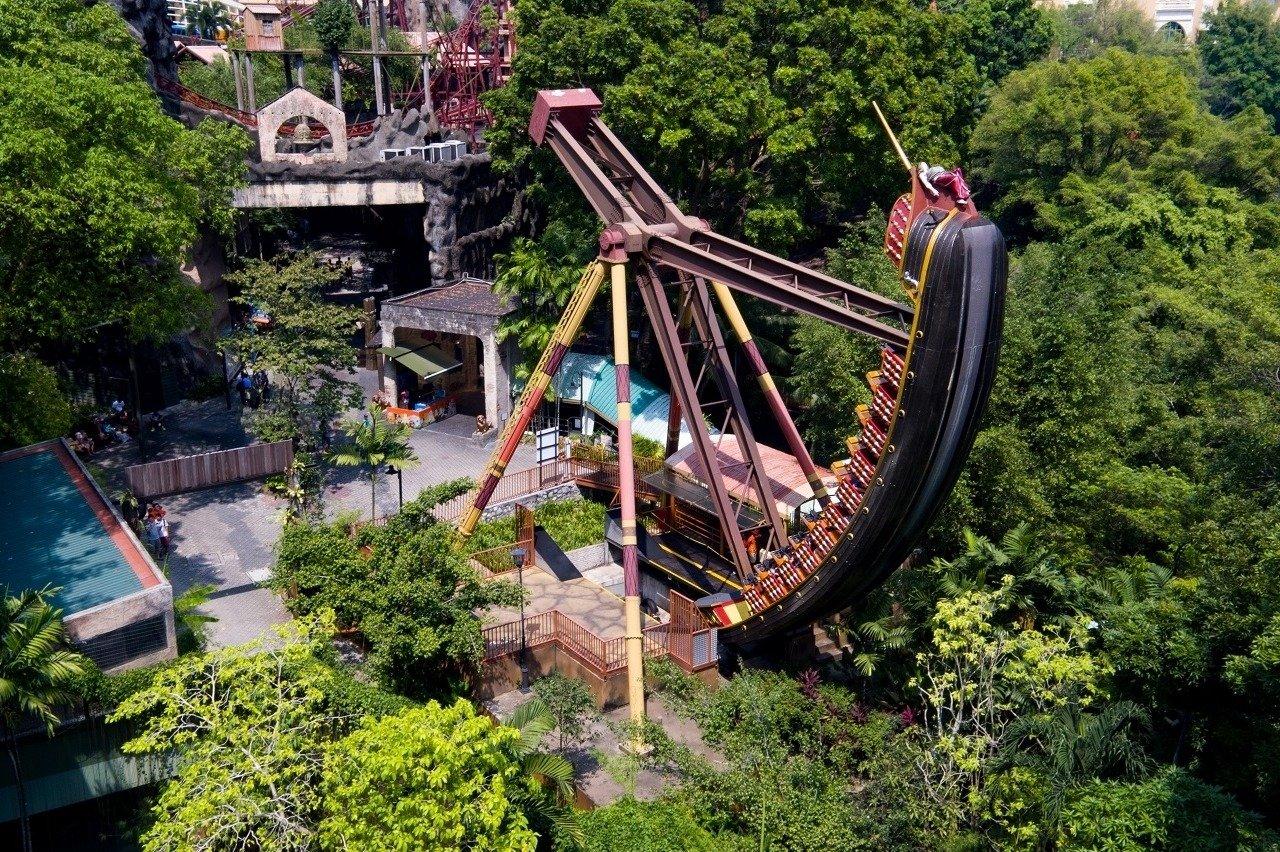Pirate's Revenge - Adventure Park at Sunway Lagoon Theme Park