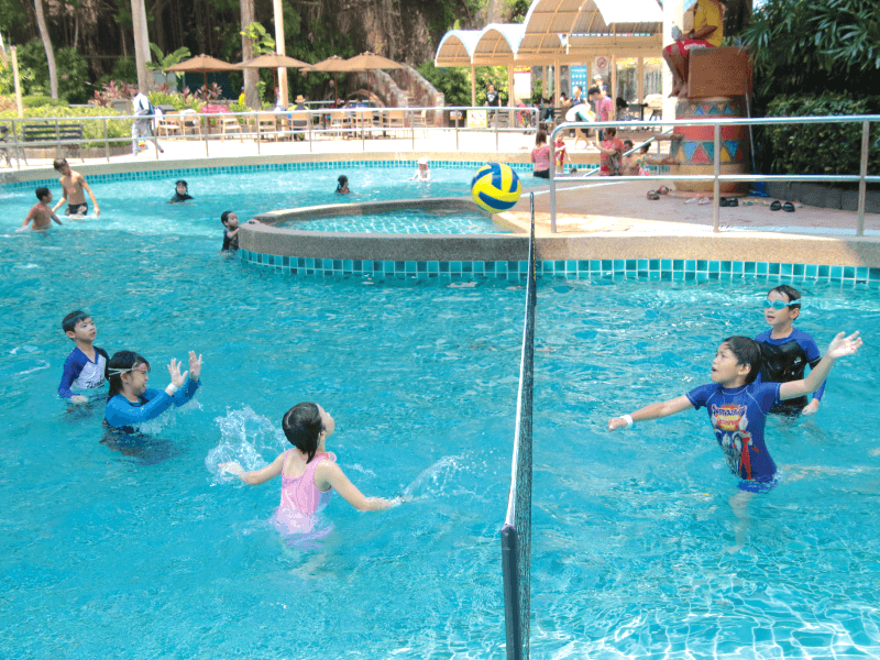 Aqua Volley at Lake Kariba, Sunway Lagoon
