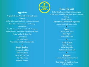 Underwater World Menu Sunway Lagoon