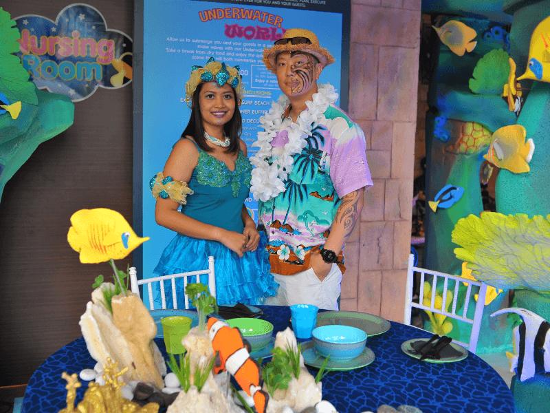 Underwater World Theme Dinner at Sunway Lagoon