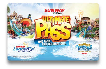 Sunway Theme Parks Ultimate Pass Card