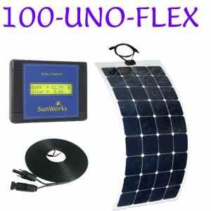 flexible solar panel kit