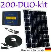 solar panels for motorhomes