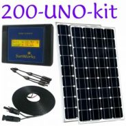 solar panels for a motorhome