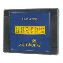 Solar Panel Charge Controllers. Dual Battery
