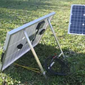 Portable solar panels