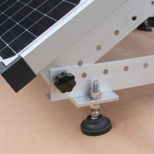 fitting a solar panel to a narrowboat