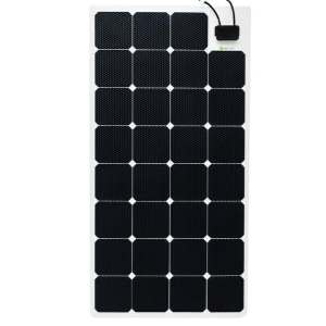 semi flexible solar panel