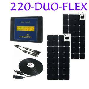 semi flexible solar panel kits