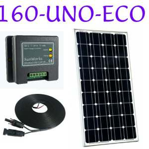 narrowboat solar panel kits