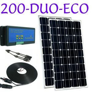 dual battery solar panel