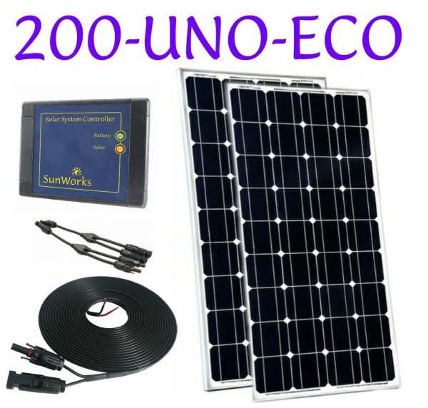 campervan solar panel kit