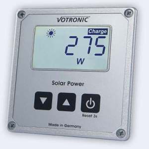 Solar Panel Charge Controllers. Remote Display Units