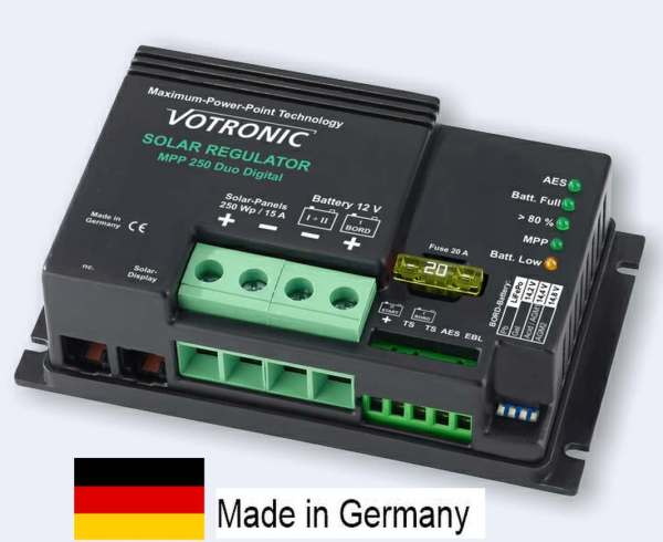 motorhome MPPT solar charge controller