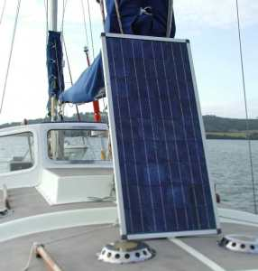 Boat solar panels