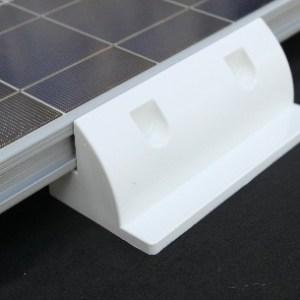 fixations laterales pour panneau solaire