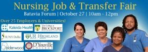 Nursing Job & Transfer Fair @ GCC Batavia - Forum   Batavia   New York   United States