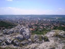 Kis-Budaörs az Odvas-hegyről