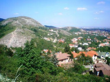 Odvas-hegy az Út-hegyről