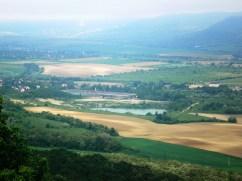 Solymár a Kálvária-hegyről