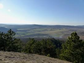Hosszú-rét a Szekrényes-hegyről