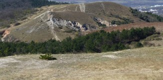 Szállás-hegy a Farkas-hegyről