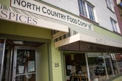 The North Country Food Co Op offers organic, vegetarian, and vegan specialties. Their locally-run store has recently added a large refrigerated section and is open to the public.